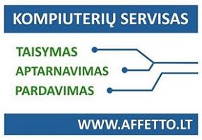 Affetto – kompiuterijos sprendimai už palankią kainą.